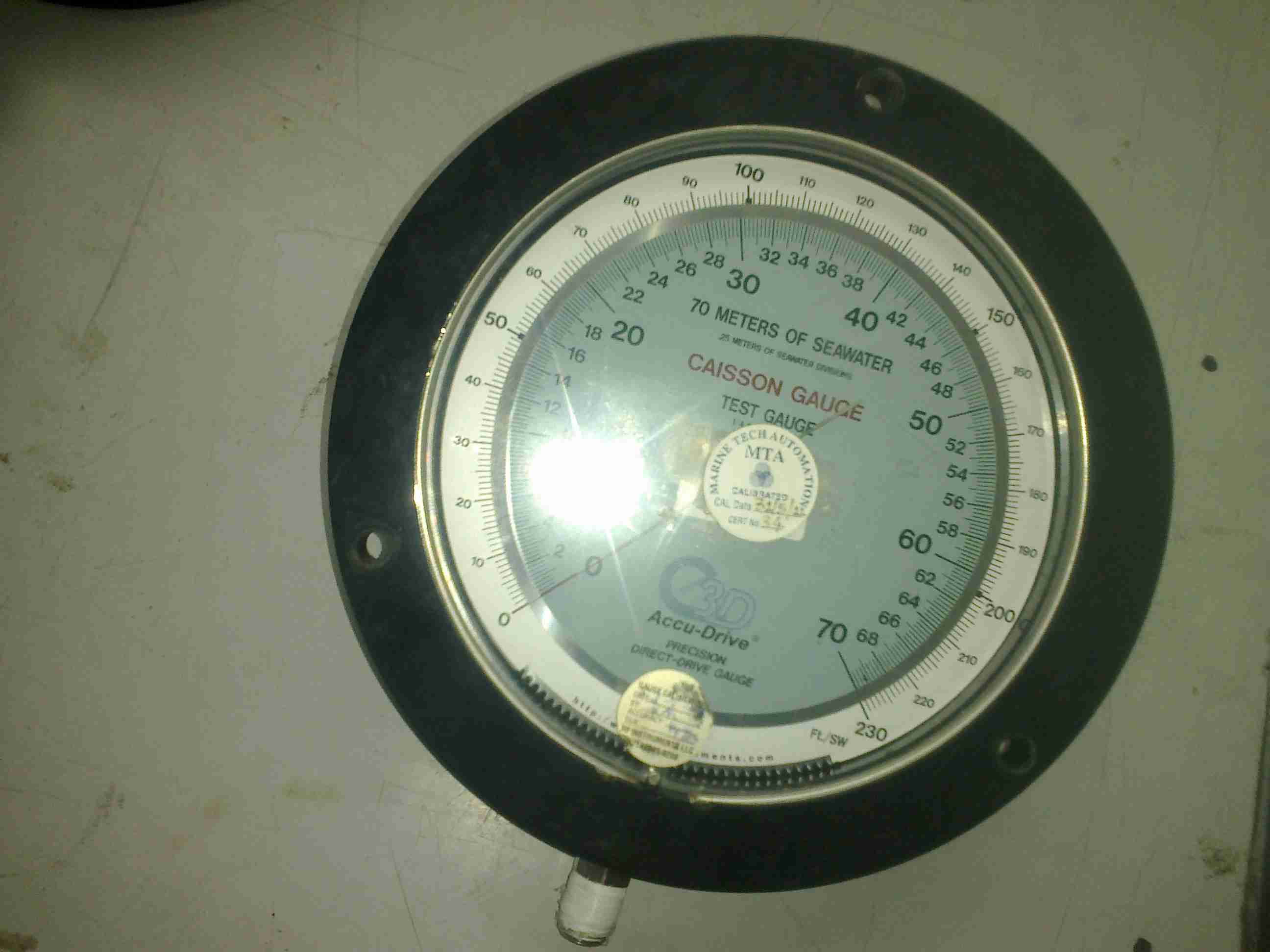 Pressure Calibration Marine Tech Automation